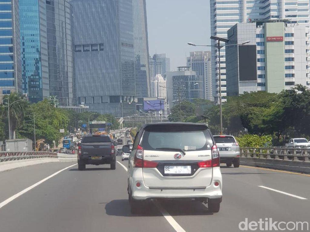Avanza Pelat Putih yang Melintas di Jakarta Pakai Nomor Lampung, tapi Tinggalnya di Depok