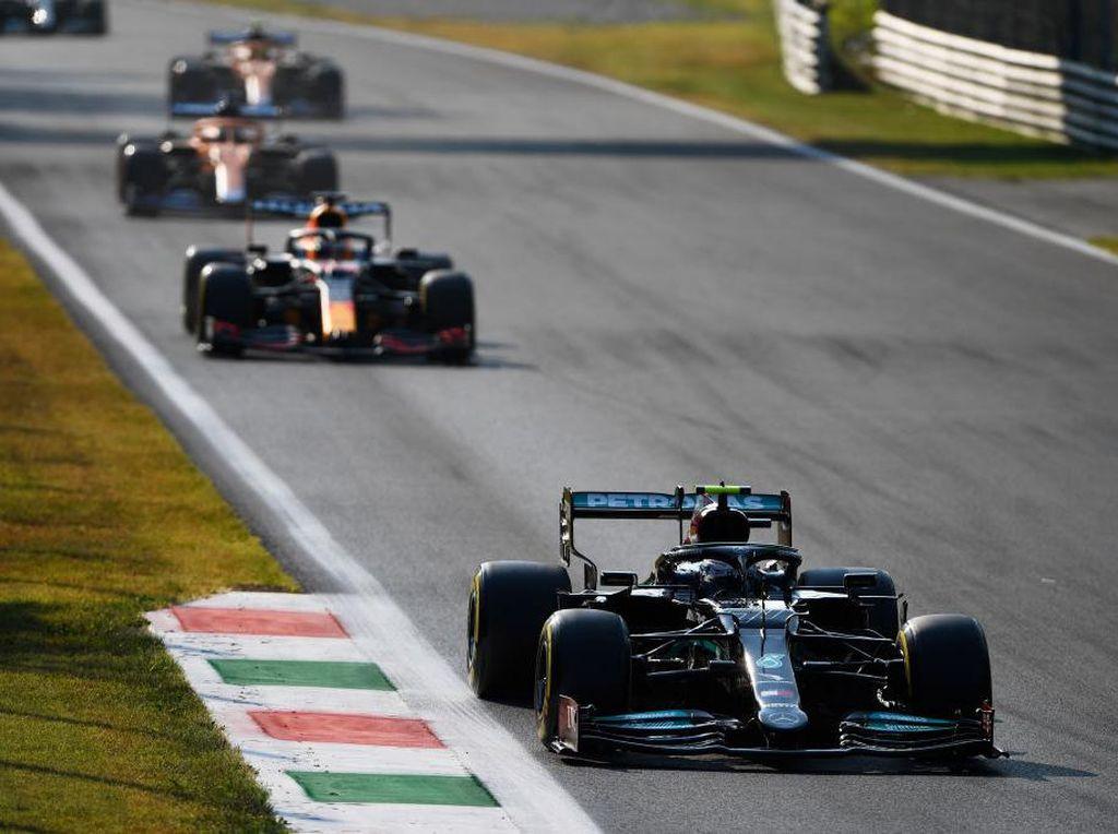 Valtteri Bottas Menangi Sprint Qualifying Formula 1 GP Italia