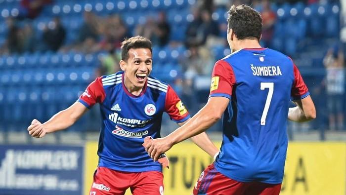 Egy Maulana Vikri membuat assist untuk FK Senica pada laga debutnya.