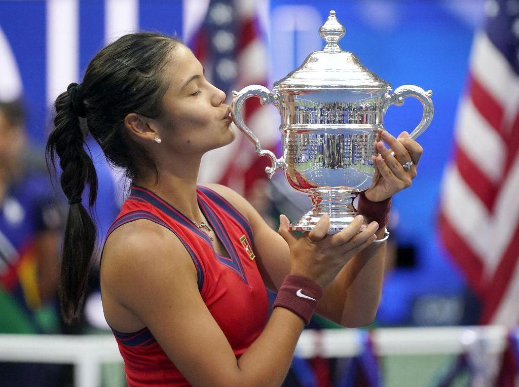 Emma Raducanu Juara AS Terbuka 2021