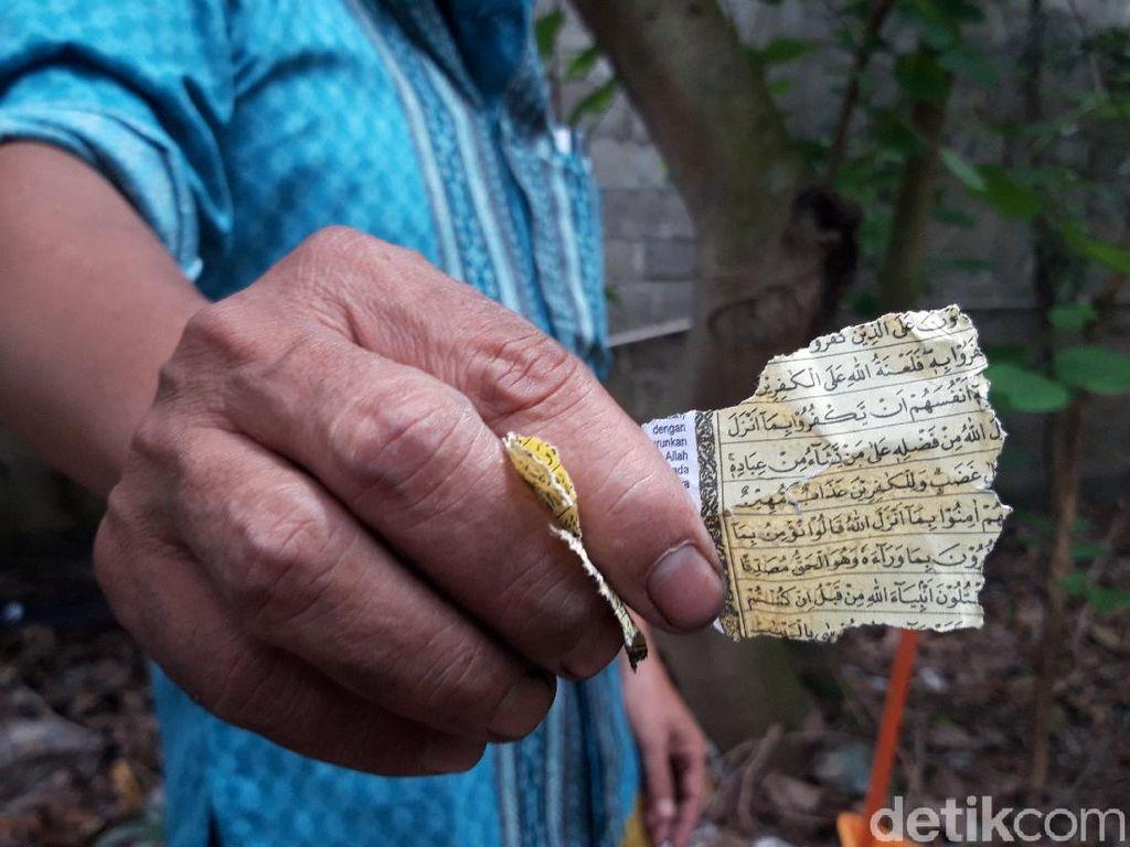Polisi Bergerak Telusuri Geger Lembaran Al-Quran untuk Petasan di Ciledug