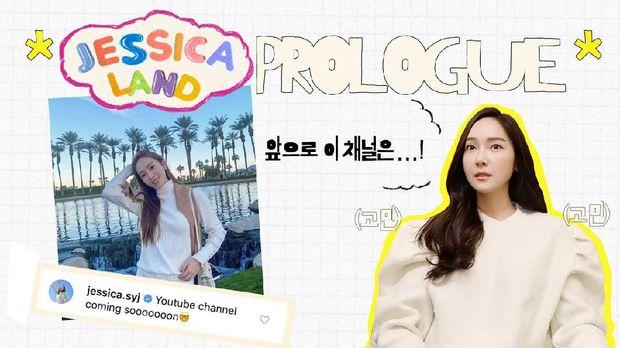 Jessica Jung juga aktif membuat konten di kanal YouTube-nya