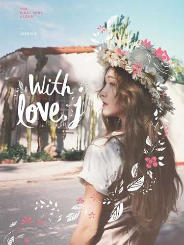 Salah satu album solo Jessica yang berjudul With Love, J