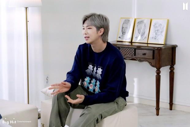 Karena Mempunyai Skill Komunikasi yang Handal, RM Sering Ditunjuk sebagai Juru Bicara BTS