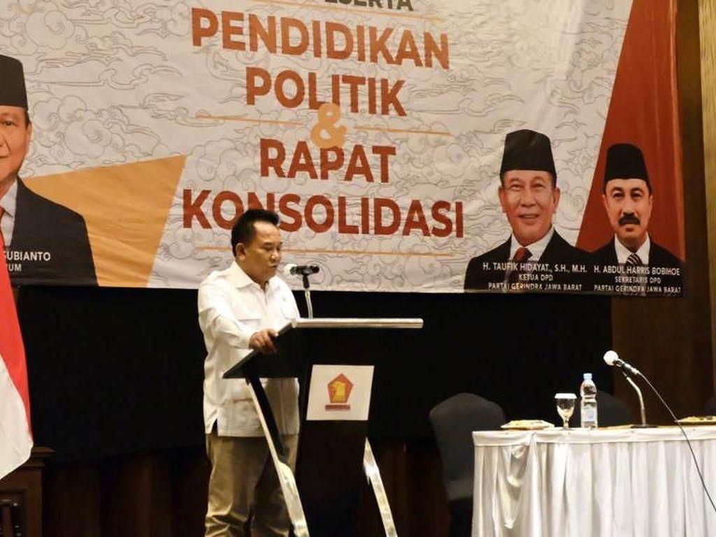 Pileg Masih Jauh, Gerindra Bidik 30 Kursi di DPRD Jabar