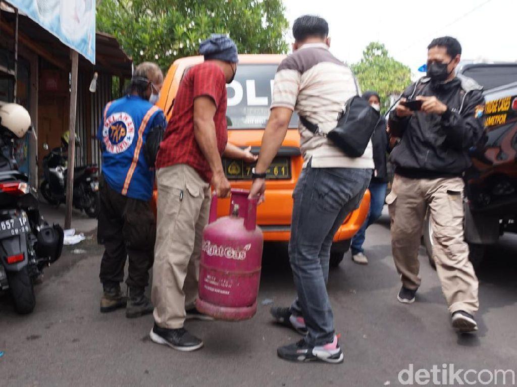 Ini Penyebab Ledakan Keras yang Rusak Sebuah Rumah di Kota Mojokerto