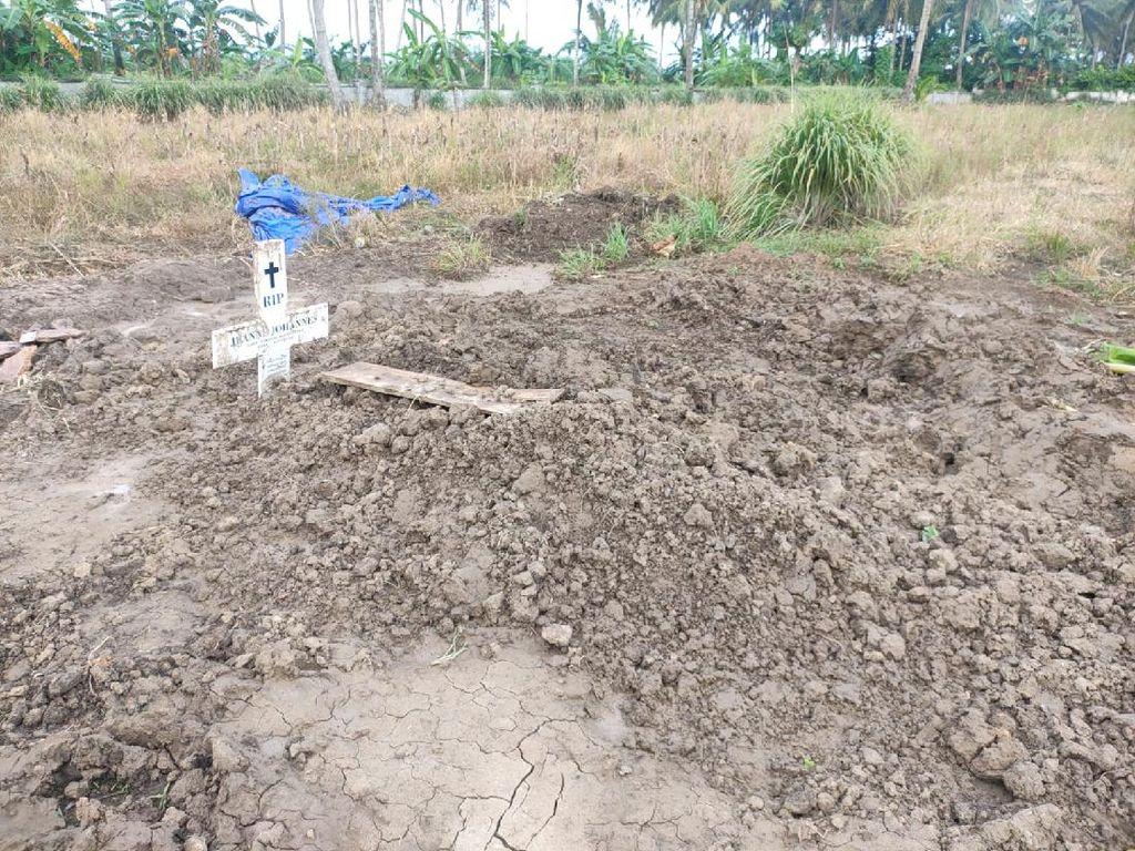 Makam di Pinrang Ditemukan Terbongkar, Polisi Periksa Satgas-Tukang Gali