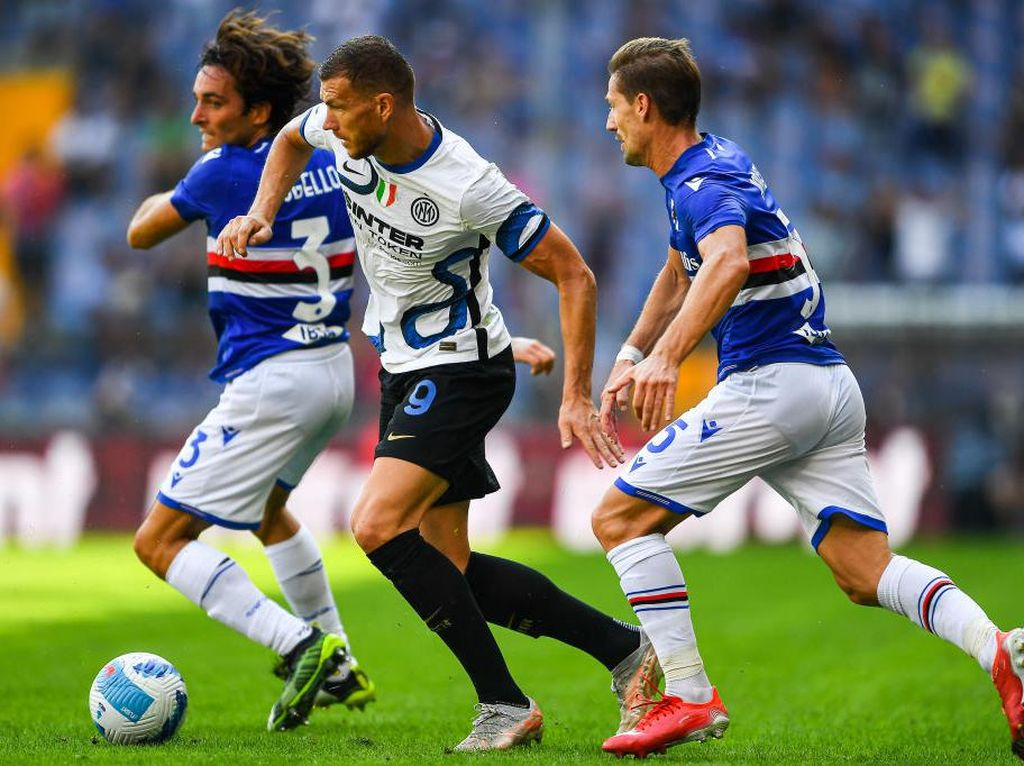 Sampdoria Vs Inter Berakhir 2-2