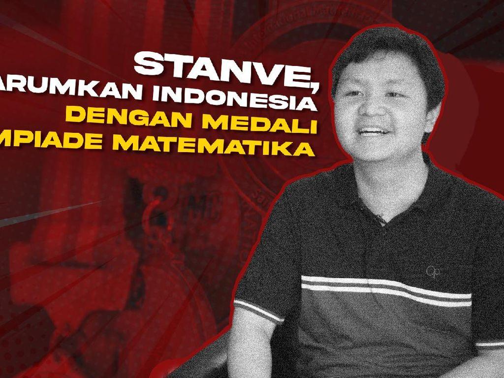 Sosok Stanve, Jago Matematika Tingkat Dunia Asal Tangerang