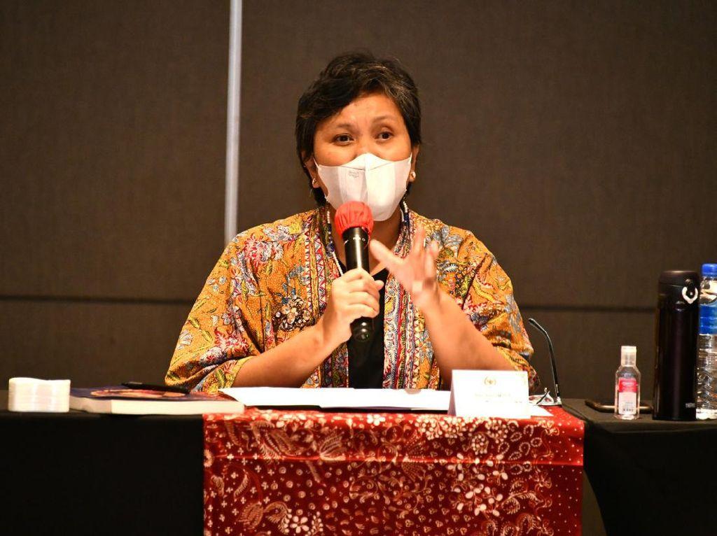 Lestari Moerdijat Minta Masyarakat Teladani Nilai Kebangsaan di Pancasila