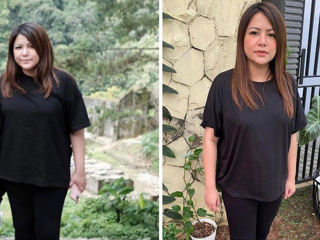 Pangkas Bobot 13,5 Kg, Transformasi Wina Natalia Bikin Tercengang