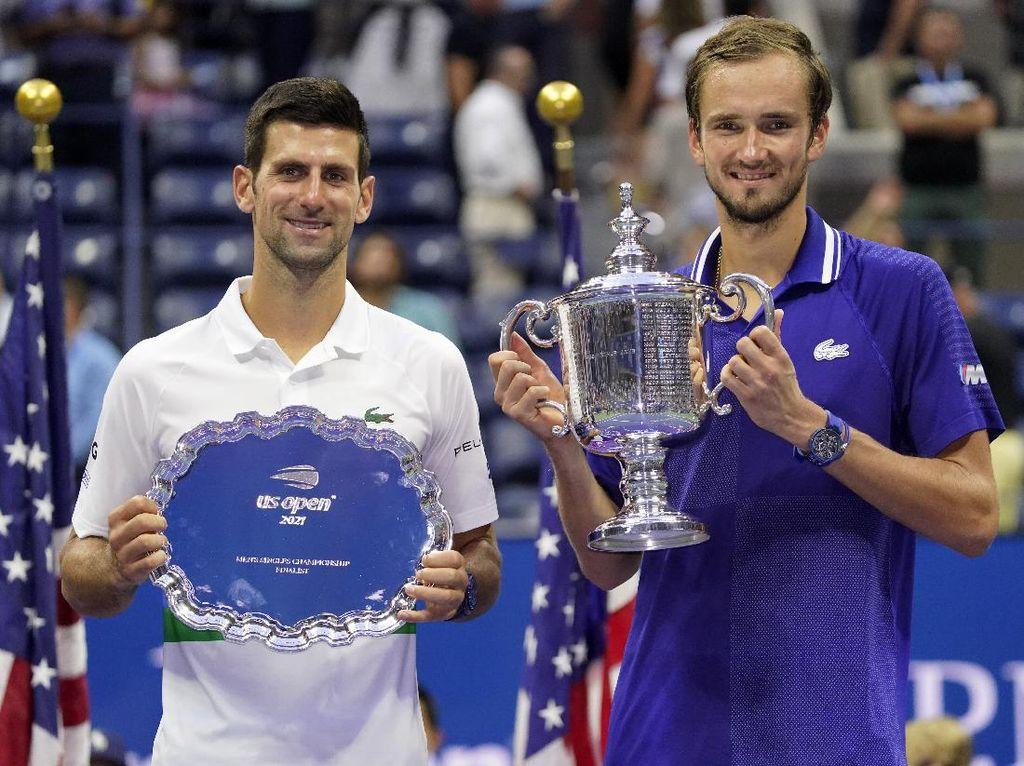 Kalahkan Djokovic, Daniil Medvedev Juara AS Terbuka 2021