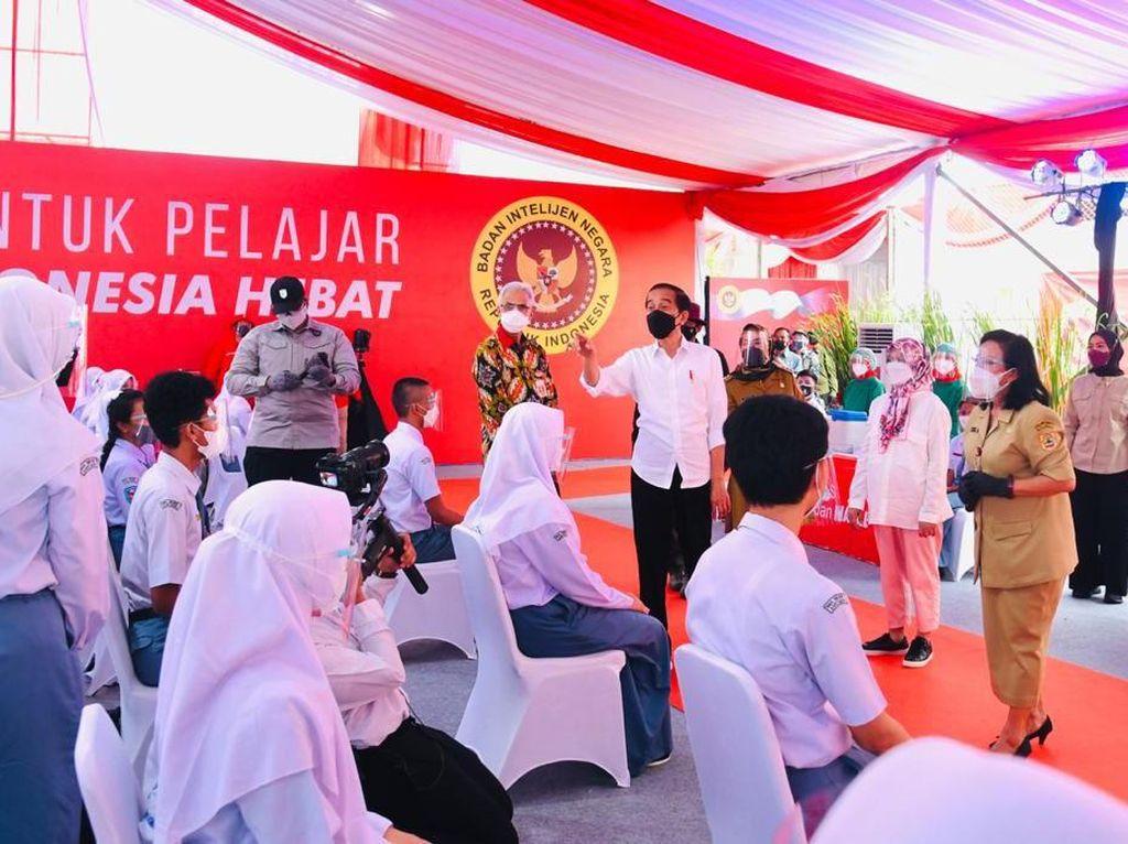 Jokowi Minta Sekolah Segera Lakukan PTM Kalau Sudah Penuhi Syarat