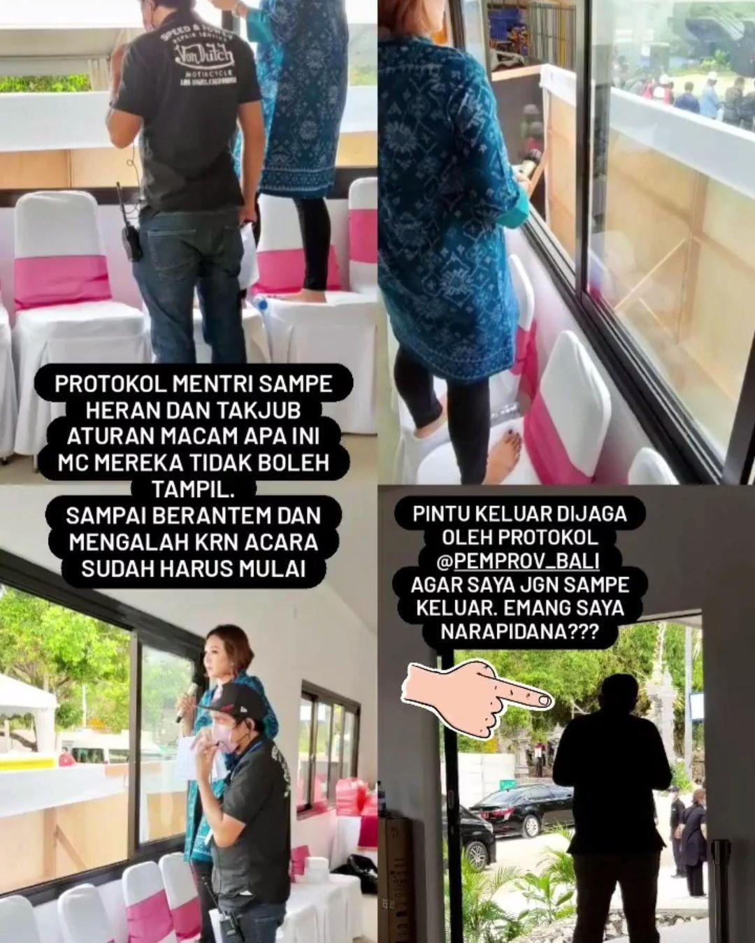 Diskriminasi Perempuan Event di Bali