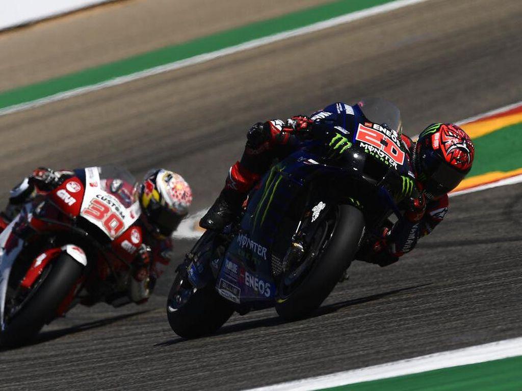 Klasemen Pebalap Usai MotoGP San Marino 2021: Quartararo di Puncak, Bagnaia Pepet Terus!
