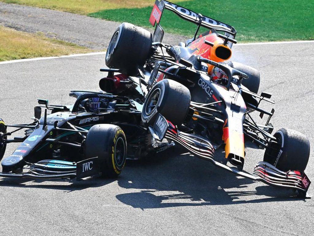 F1 GP Italia: Verstappen Dihukum Akibat Tabrakan dengan Hamilton