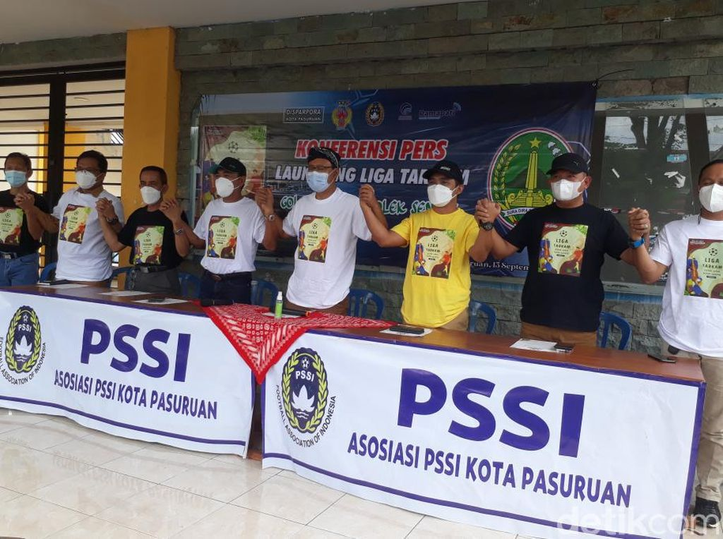 Liga Tarkam Akan Digelar di Kota Pasuruan untuk Cari Pesepakbola Muda