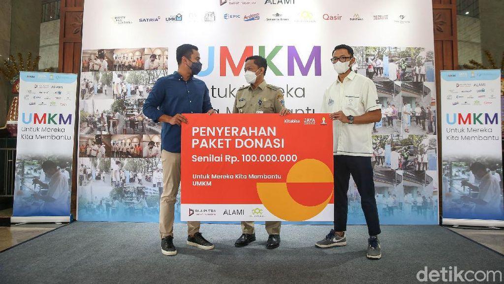 HIPMI Jaya Berikan Bantuan Melalui Program UMKM