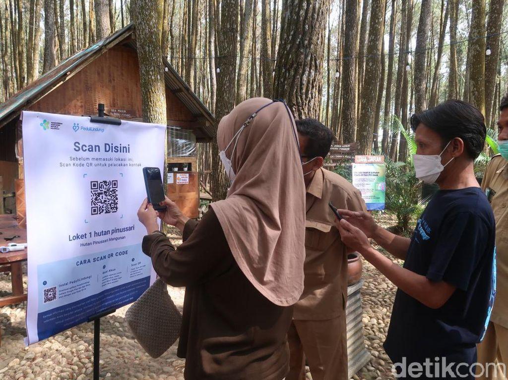 Masuk Pinus Sari Terkenda Sinyal untuk Scan QR Code PeduliLindungi