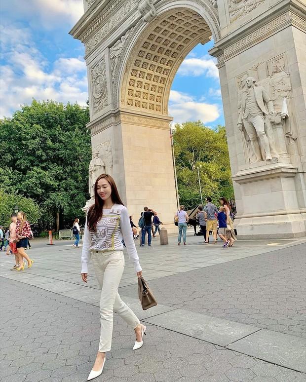Jessica Jung với bài kiểm tra Hermès Birkin Tes