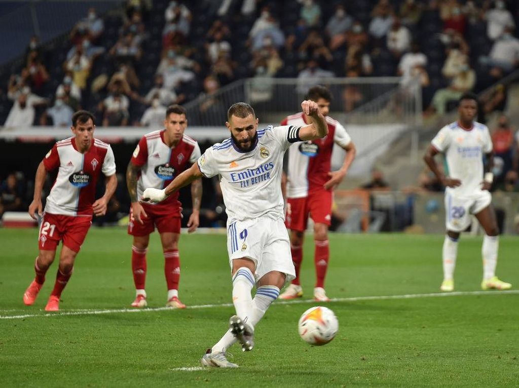 Karim Benzema Top Skor Liga Spanyol Usai Bikin Trigol