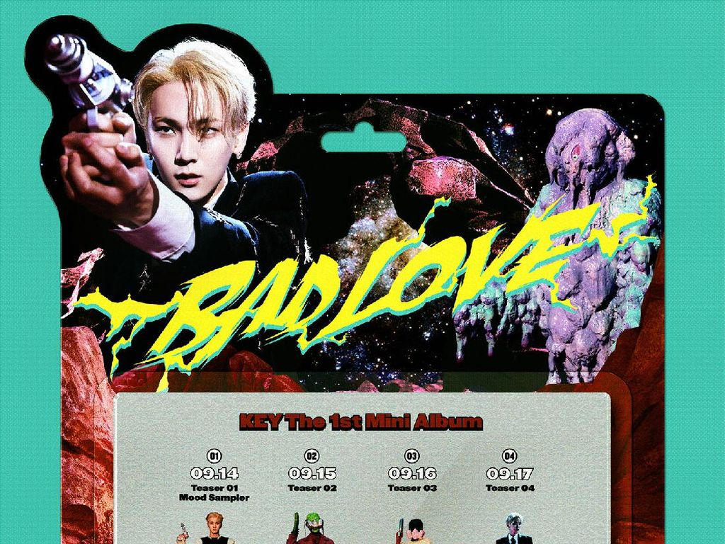 Key SHINee Rilis Album BAD LOVE 27 September, Cek Jadwalnya di Sini!