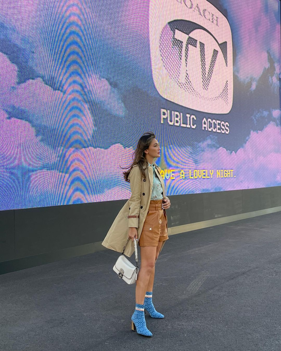 Luna Maya di New York Fashion Week