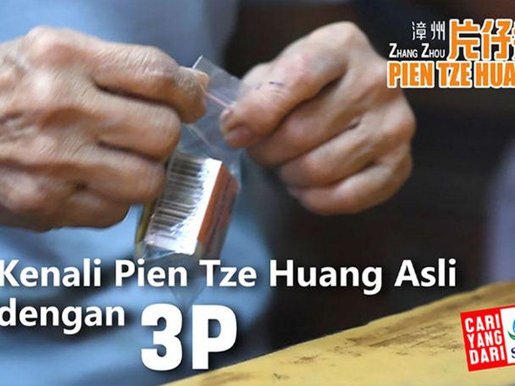 Bedakan Pien Tze Huang Palsu Tak Semudah Bedakan Uang Palsu!
