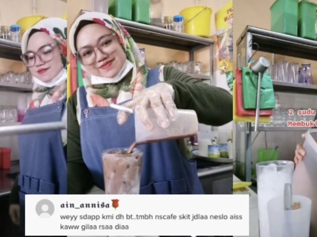 Rahasia Bikin Es Milo Enak dari Penjual Milo Ais Malaysia