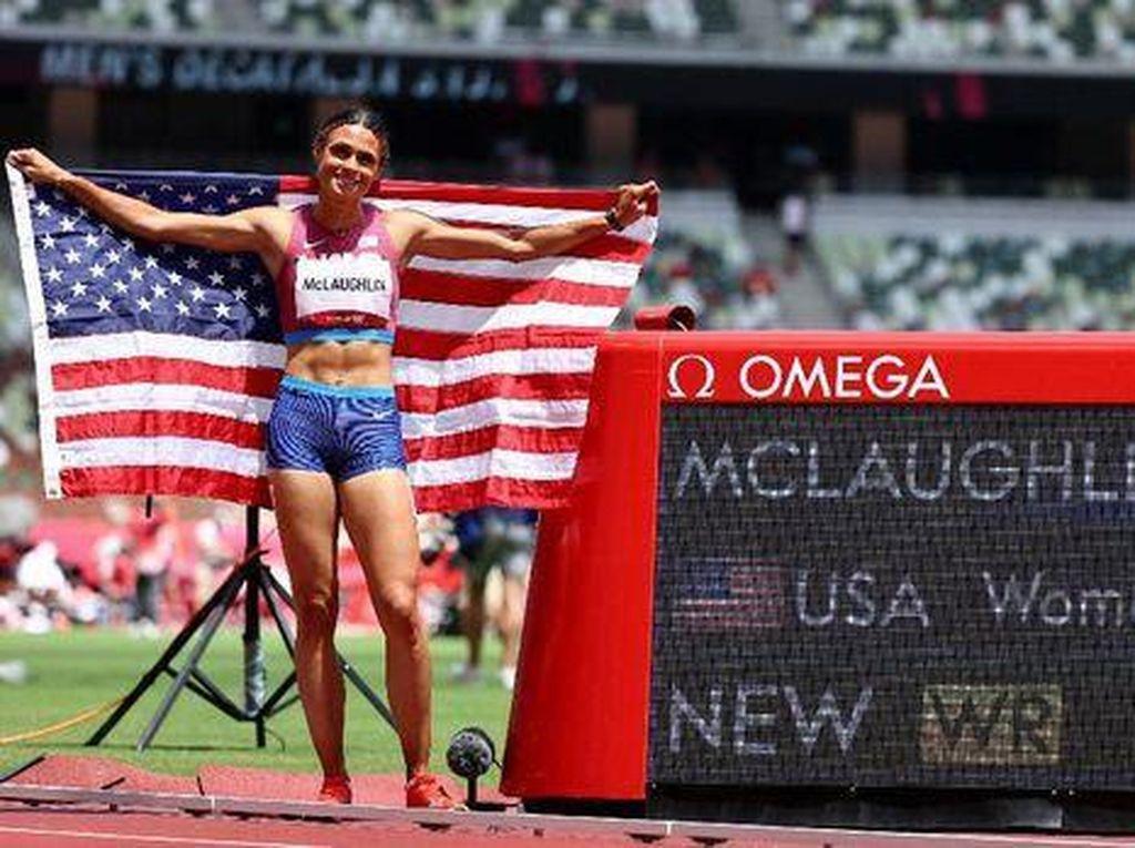 Keren! Atlet-atlet Ini Cetak Rekor Dunia di Olimpiade Tokyo