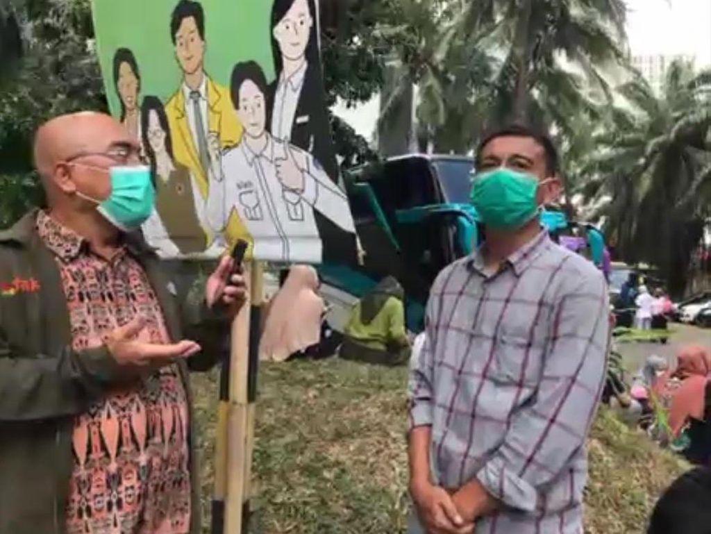Sopir Rombongan Vaksinasi Ngaku Ada 5 Anggota Dishub DKI Saat Pemerasan