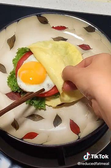 Tren Sandwich Kantong Telur