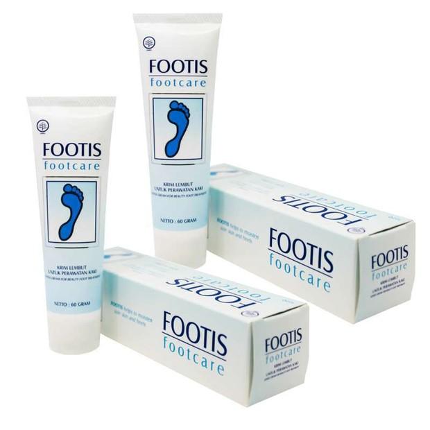 Borobudur Herbal Footis Footcare Cream / foto : blibli.com/ObatHerbalPromo