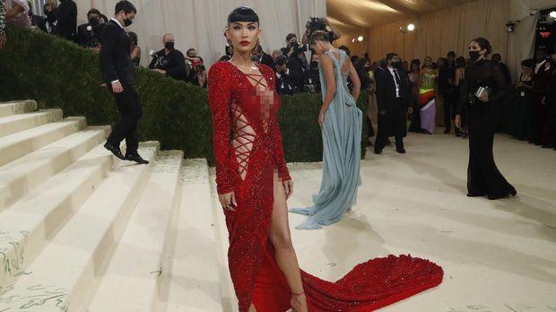 Metropolitan Museum of Art Costume Institute Gala - Met Gala - In America: A Lexicon of Fashion - Arrivals - New York City, U.S. - September 13, 2021. Megan Fox. REUTERS/Mario Anzuoni