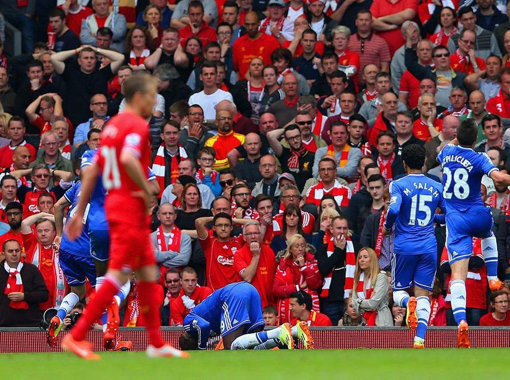 Demba Ba soal Gerrard Terpeleset: Tidak Semuanya Berakhir Indah