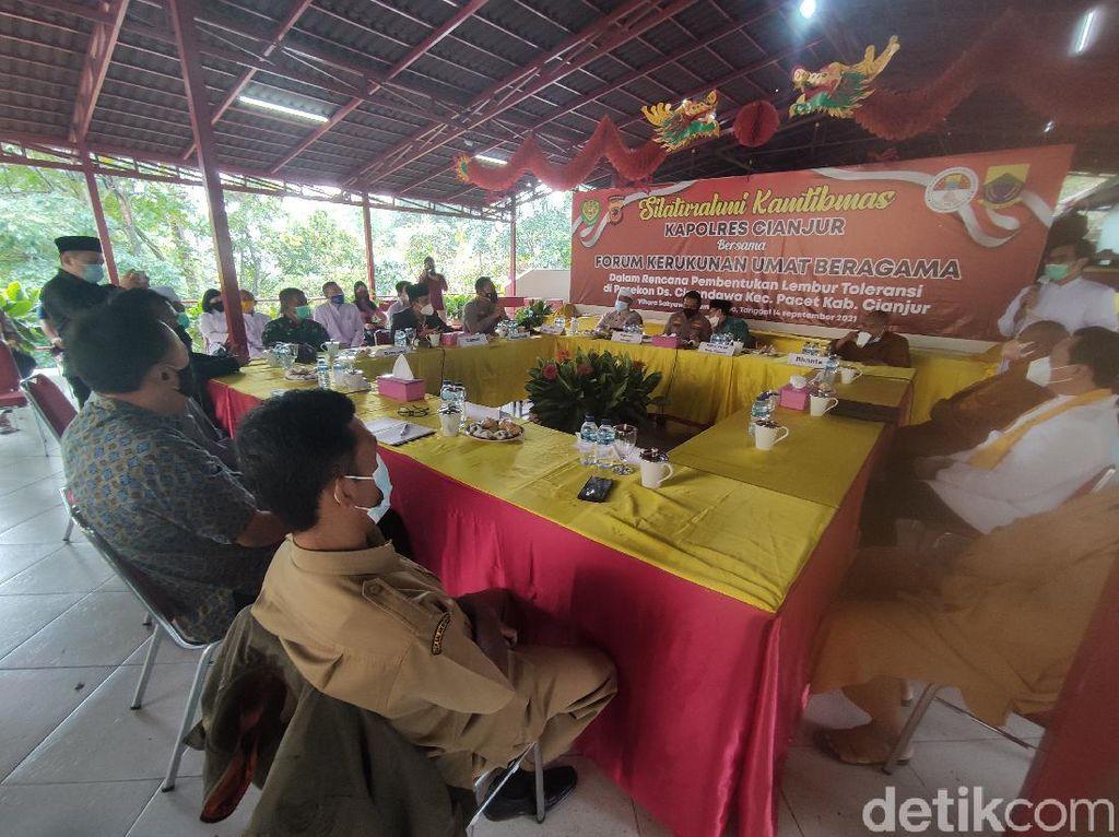 Cegah Percepahan Antar Umat, FKUB-Polisi Cianjur Bentuk Kampung Toleransi