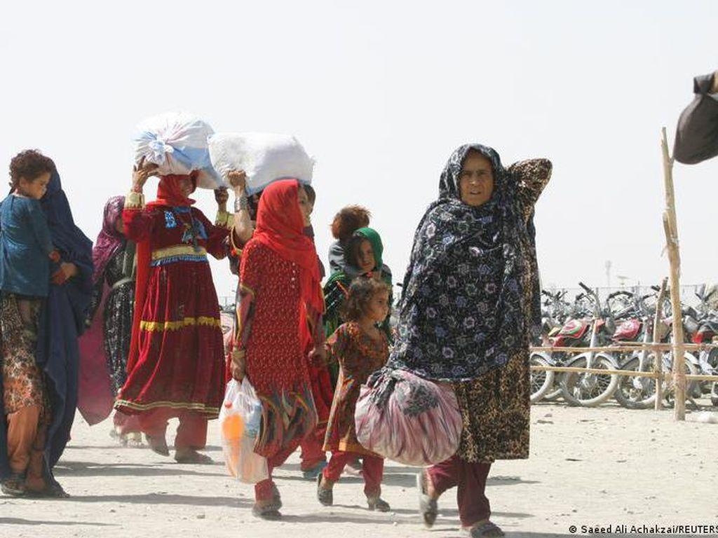 Negara Donor Akan Bantu US$ 1 M untuk Afghanistan Dibayangi Krisis Kemanusiaan