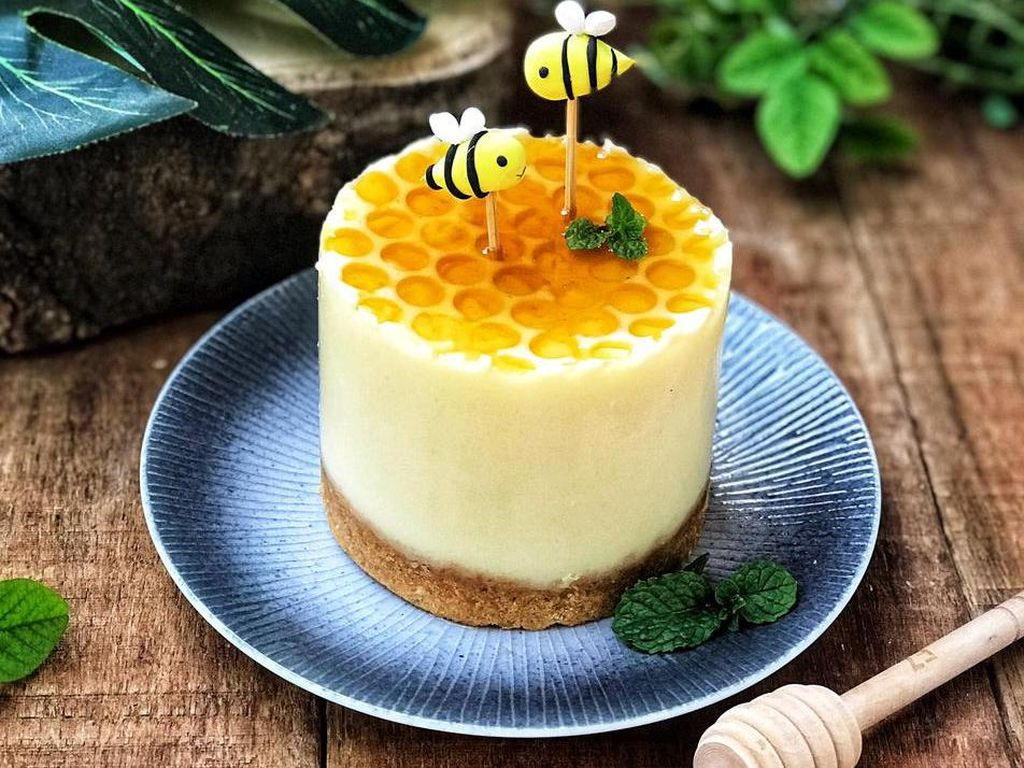 Resep Pembaca: Resep Puding Cheesecake Madu yang Lembut Legit
