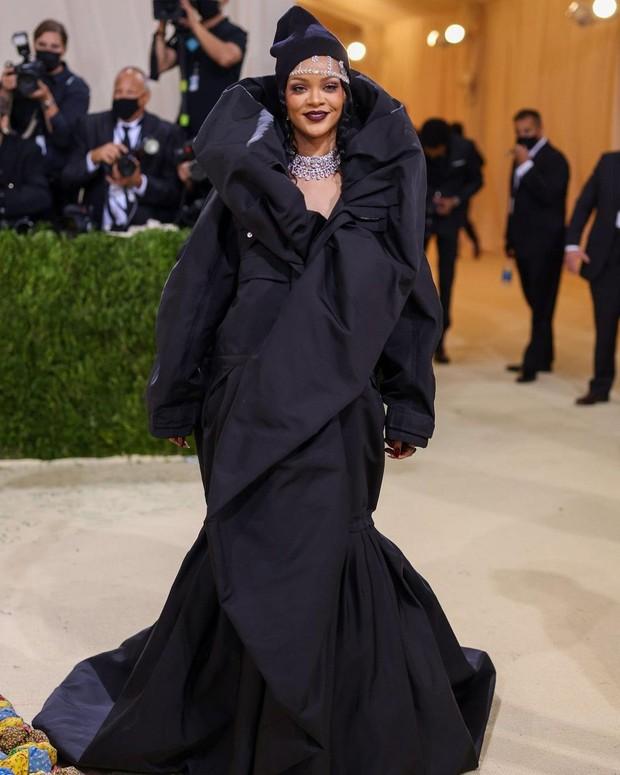 Rihanna/Foto: instagram.com/@_metgala2021