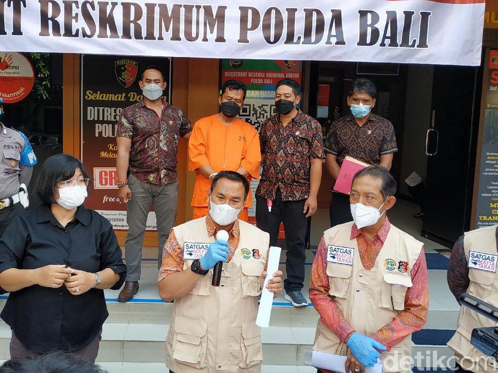 Palsukan Sertifikat Tanah, Kepala Desa di Klungkung Bali Ditangkap