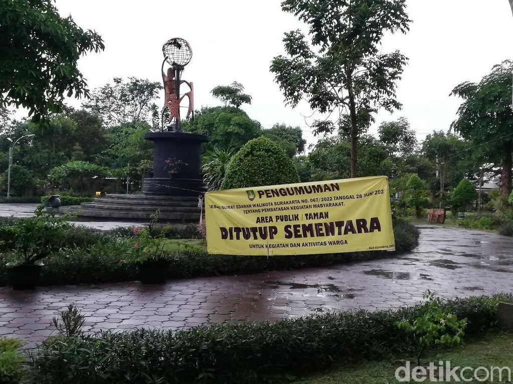 Timbulkan Kerumunan, Taman Jaya Wijaya Solo Ditutup Sementara