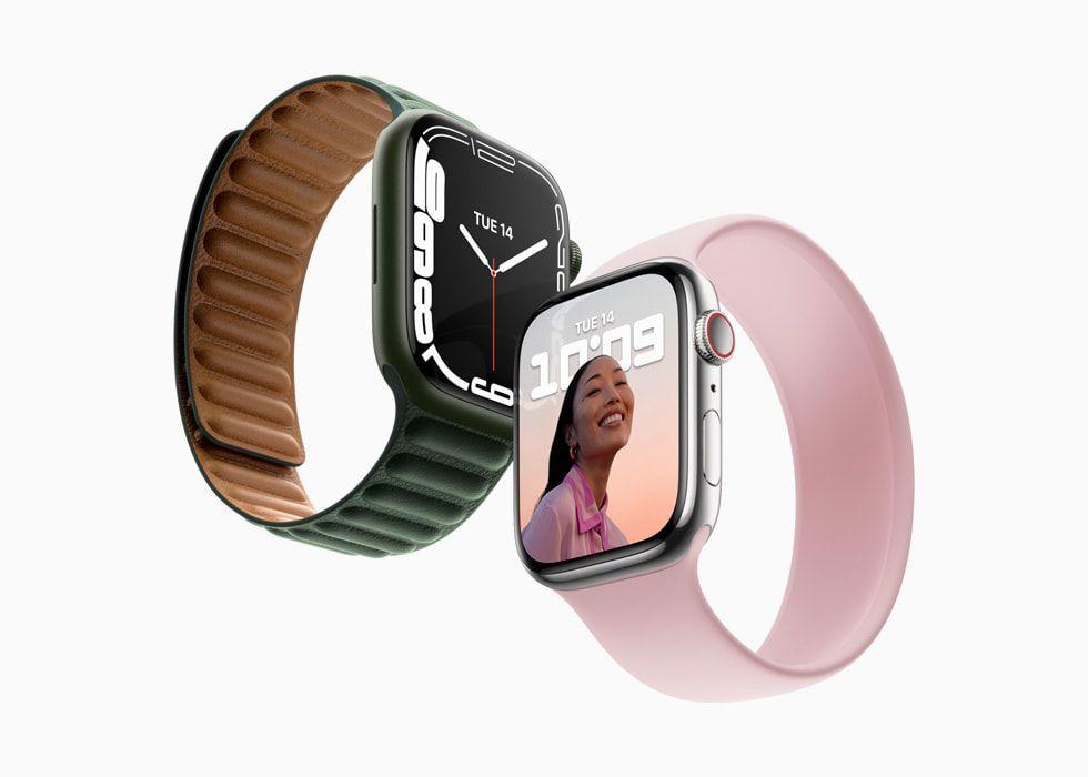 Apple Watch Series 7 resmi dirilis