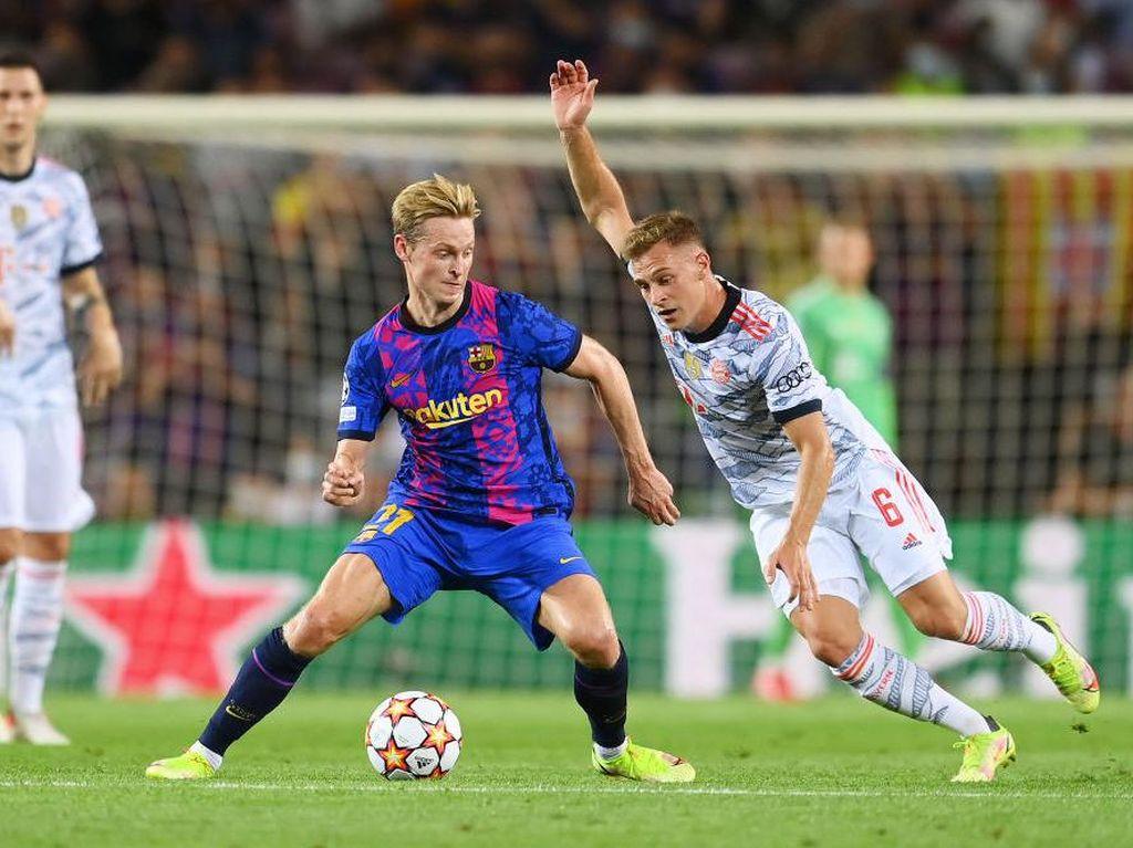 Bayern Munich Cuma 7 Menit Kesulitan Lawan Barcelona
