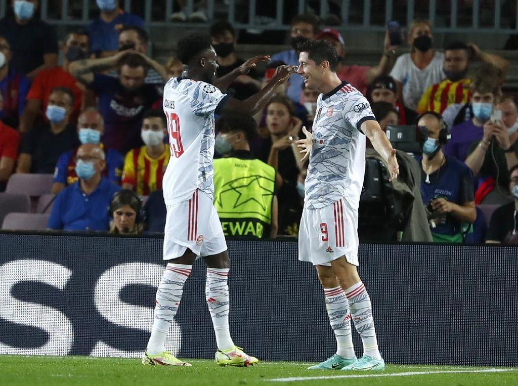 Barcelona Vs Bayern: Die Roten Hajar Los Cules 3-0