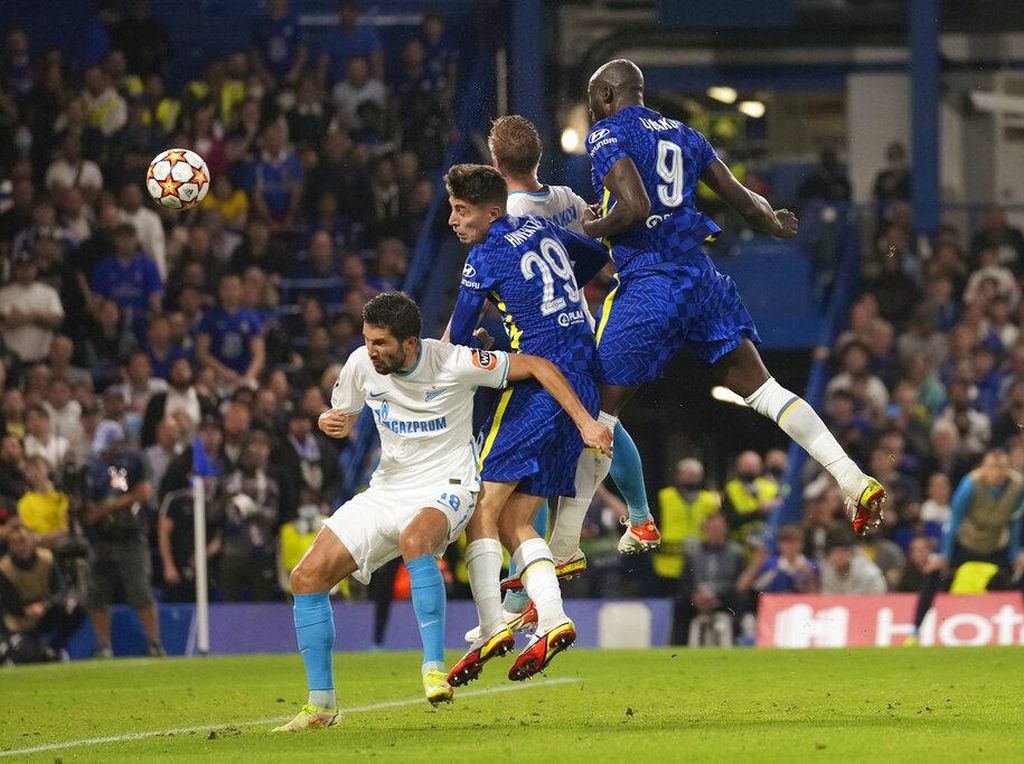 Chelsea Vs Zenit: Gol Tunggal Lukaku Menangkan The Blues