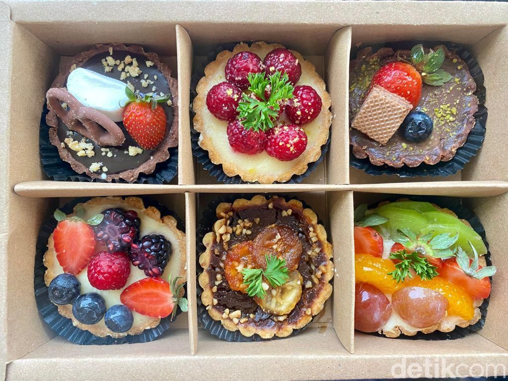 Emilys Bake House: Tart Buah ala Korea yang Cantik dan Manis Segar!