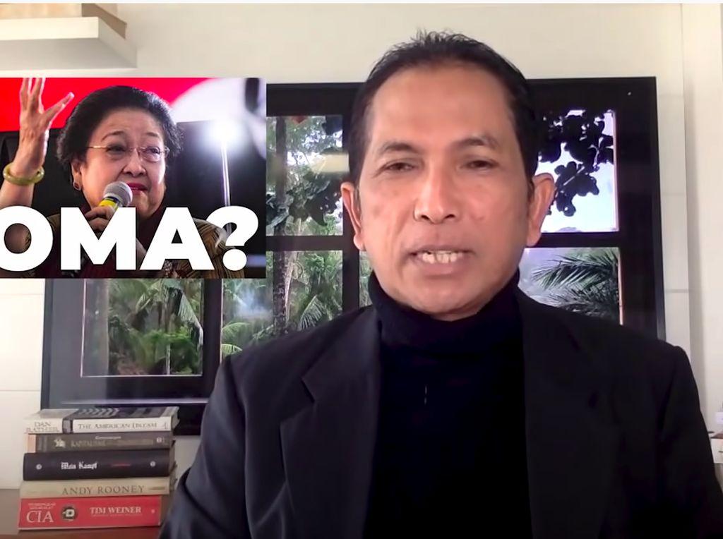 Hersubeno Arief Tolak Sebutkan Nama Dokter di Hoax Megawati Koma