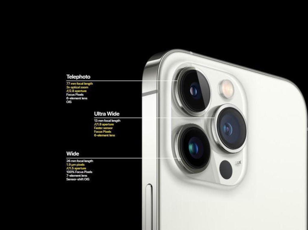 Deretan Fitur Kamera Terbaru yang Dibawa iPhone 13