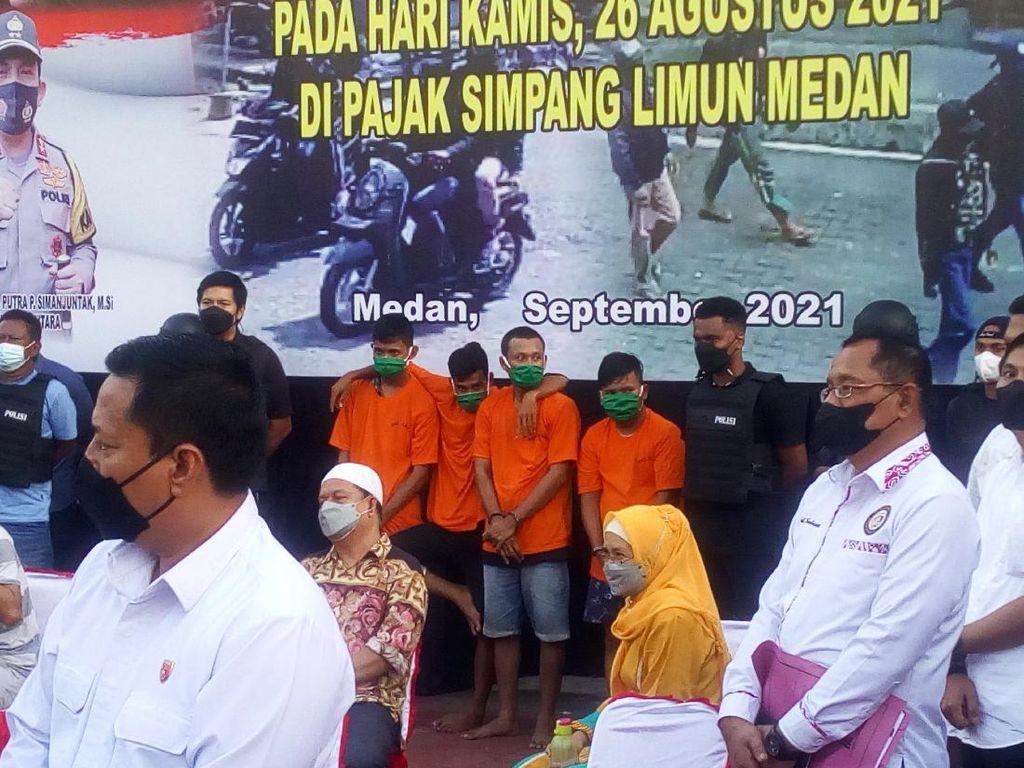 Polisi: Perampok Toko Emas di Medan Beli Senpi dari Aceh