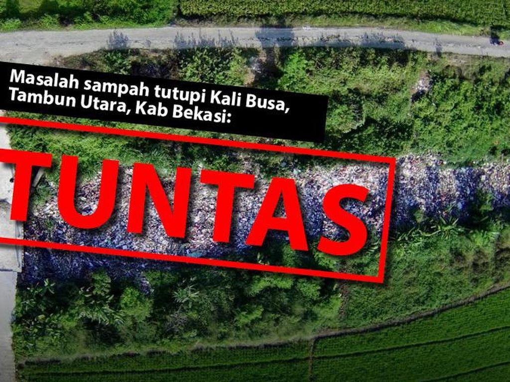 Before-After Pembersihan Sampah Kali Busa Bekasi, Ayo #CegahBanjir